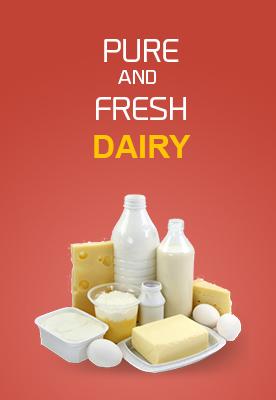 Dairy, Eggs & Bread