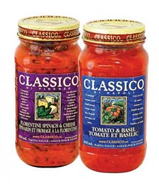 Classico pasta sauce 650ml