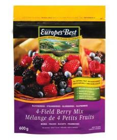 Europe's Best 4-field berry mix 600g