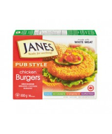 Janes Chicken Burgers 700g  (6 patties)