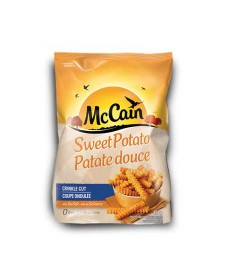 McCain sweet potato fries 1lb (crinkle cut)