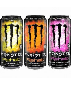 Monster tea+energy drink 458ml