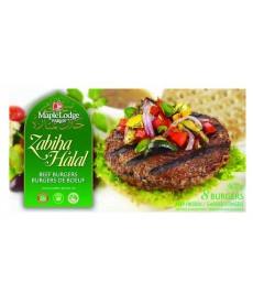 Zabiha Halal Beef Burgers 907g